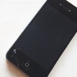 iphone5破損
