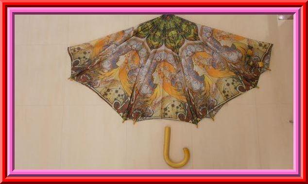 傘の中棒交換