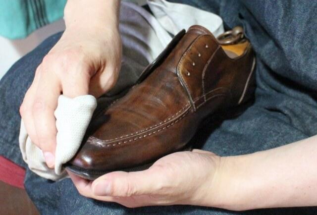 紳士靴 縫い修理