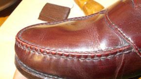 靴修理 縫い全般対応